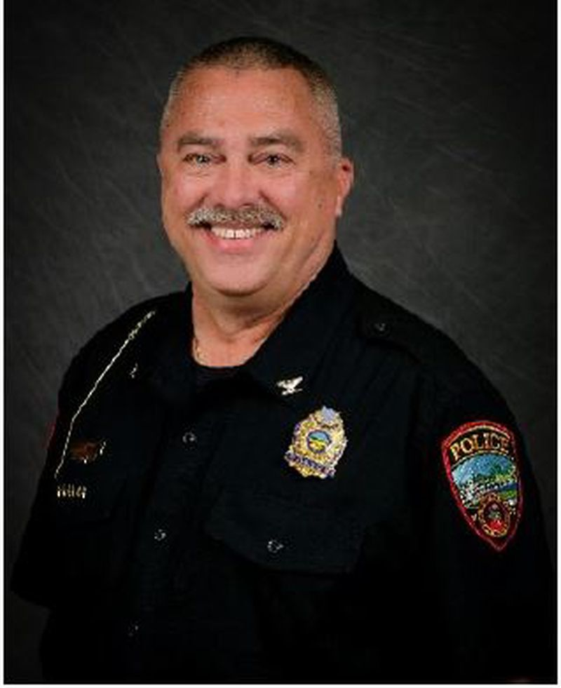 Franklin Police Chief Russell Whitman. CONTRIBUTED/CITY OF FRANKLIN