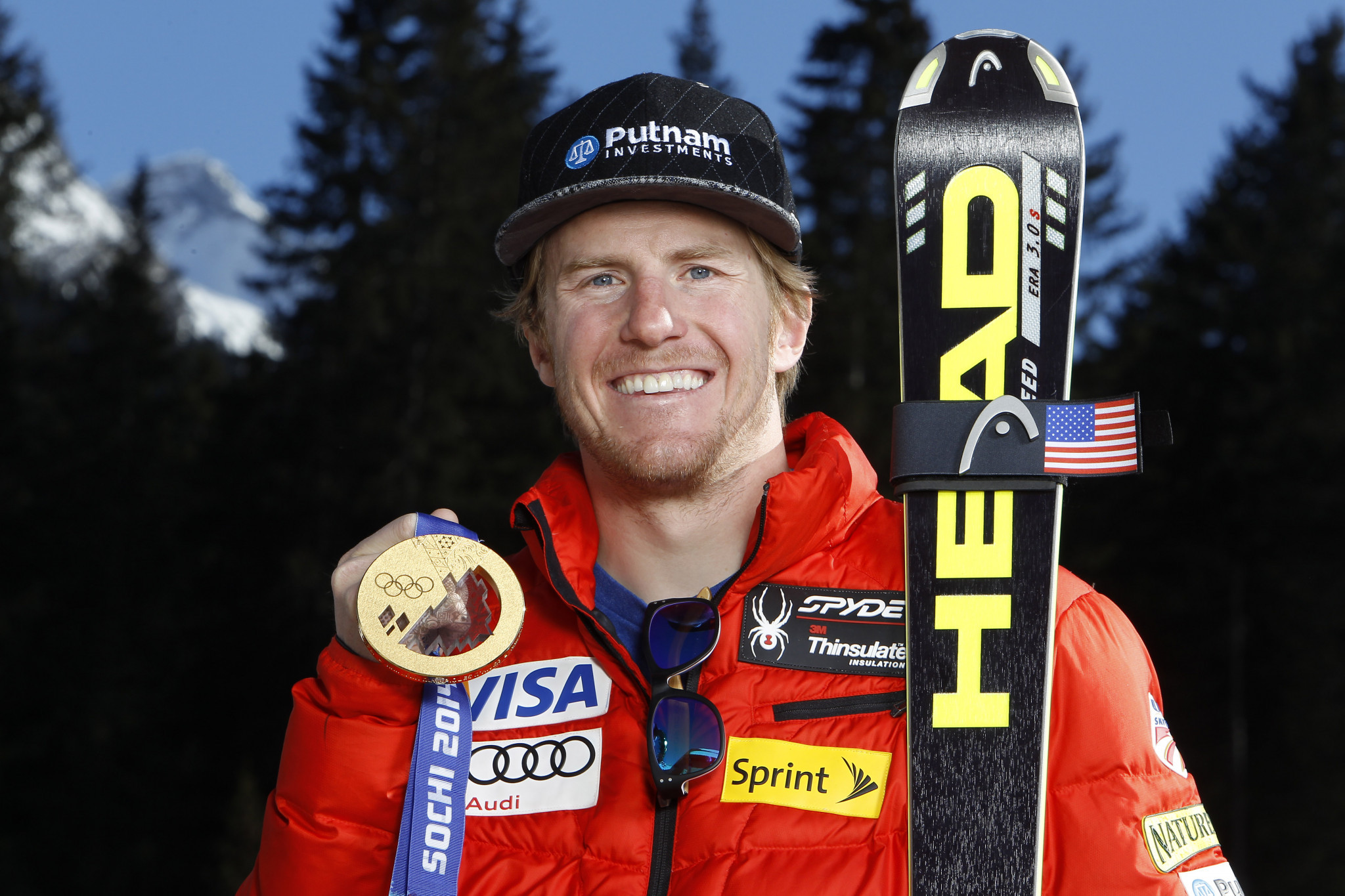 Ted Ligety earned his second Olympic gold medal at Sochi 2014 ©Getty Images