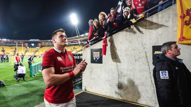 CJ Stander earned a cap for the Lions in 2017. Photograph: Billy Stickland/Inpho