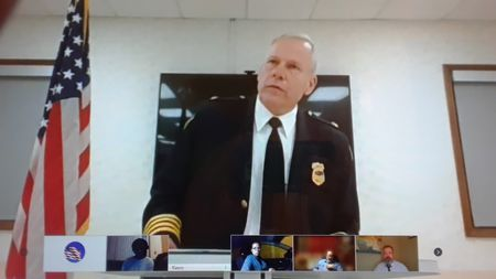 Former South Euclid police chief Kevin Nietert speaking on 3-22-21