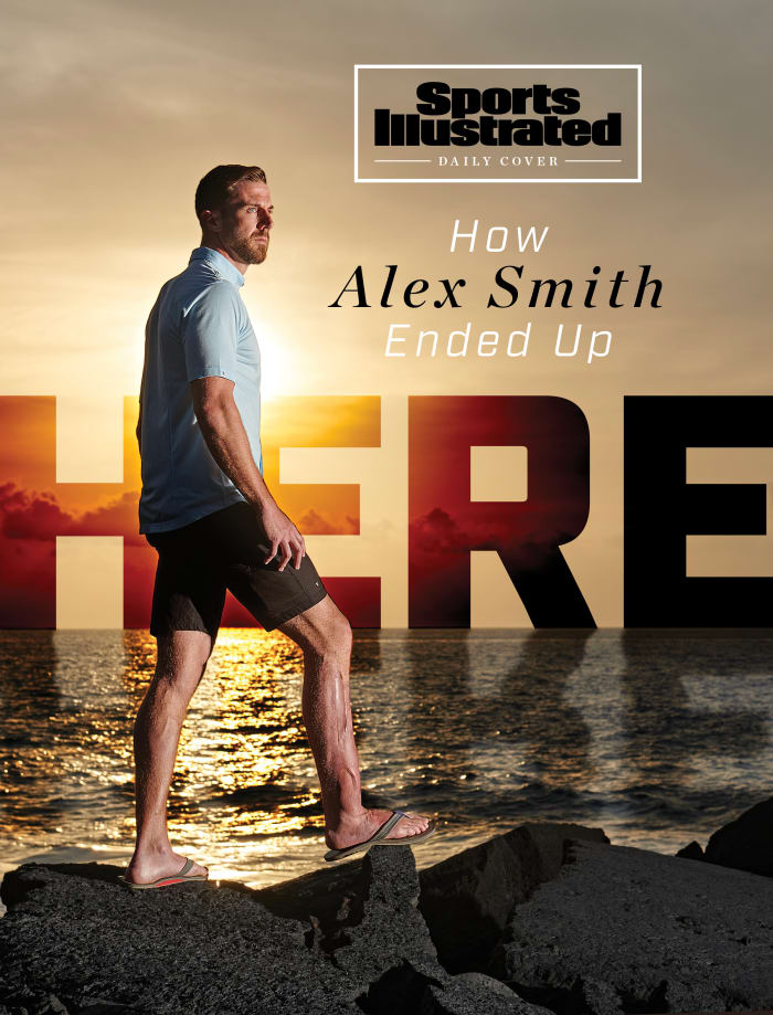 Alex Smith retirement Sports Illustrated daily cover story