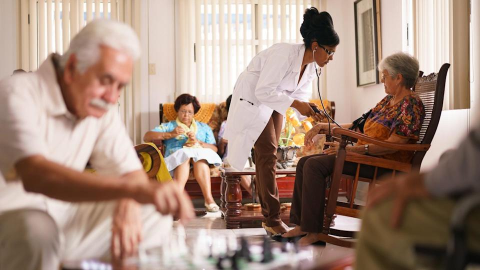 long term care senior living